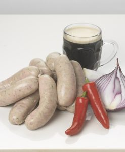 Stout-Carmelised-Onion-and-Chilli-Premium-Sausages