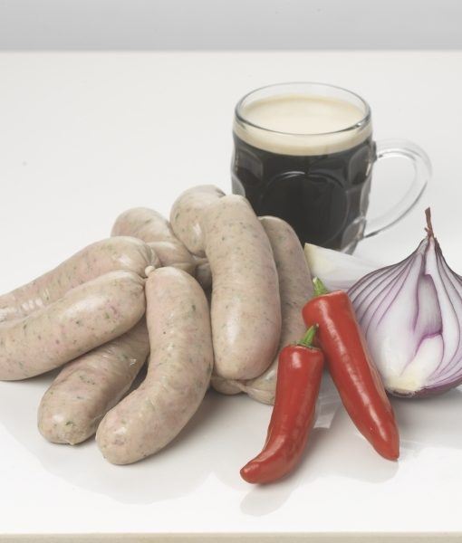 Stout-Carmelised-Onion-and-Chilli-Premium-Sausages