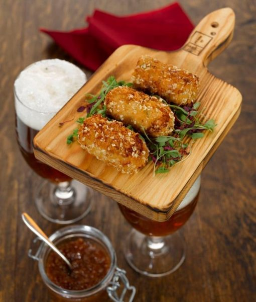 Cheese & Beer croquettes