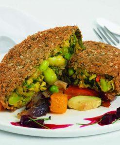 aromatic garden veg burger